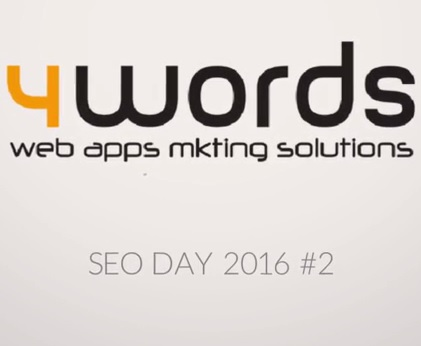 4words: evento SEO DAY